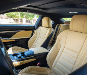 Luxury car interior Pompano Beach